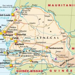 senegal Map 2